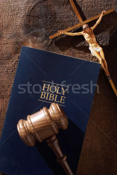 Dieu peuvent juge still life un message divine Photo stock © AlphaBaby