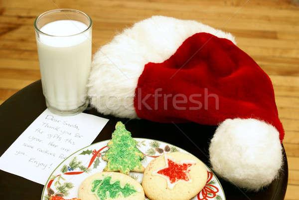 Stock photo: Cookies for Santa