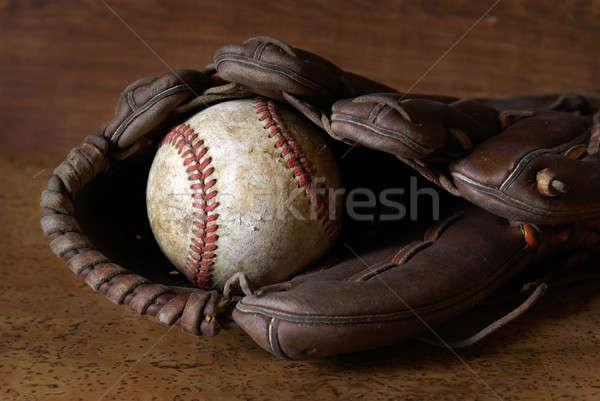 Baseball and Glove Stock photo © AlphaBaby