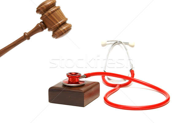 Medicine and Law Stock photo © AlphaBaby