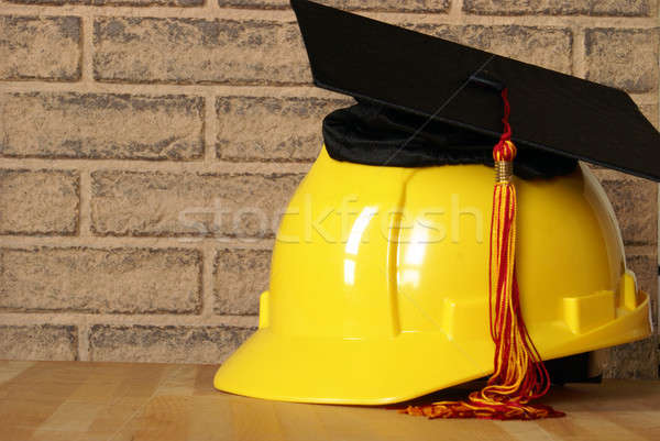 Tradesman Graduatiing Success Stock photo © AlphaBaby