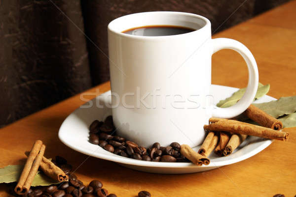 Cup Of Coffee Stock photo © AlphaBaby