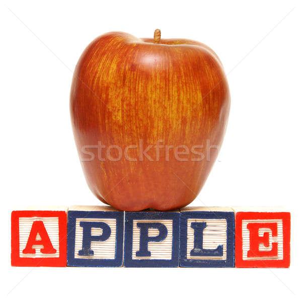 Spelling Apple Stock photo © AlphaBaby
