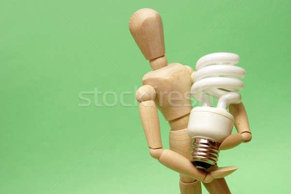 Energy Saver Stock photo © AlphaBaby