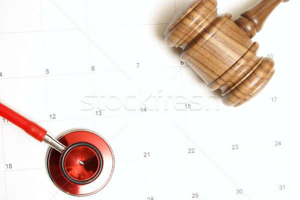Medicine Meets Law Stock photo © AlphaBaby