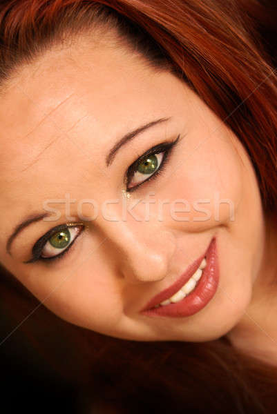 Beautiful Attractive Young Woman Stock photo © AlphaBaby