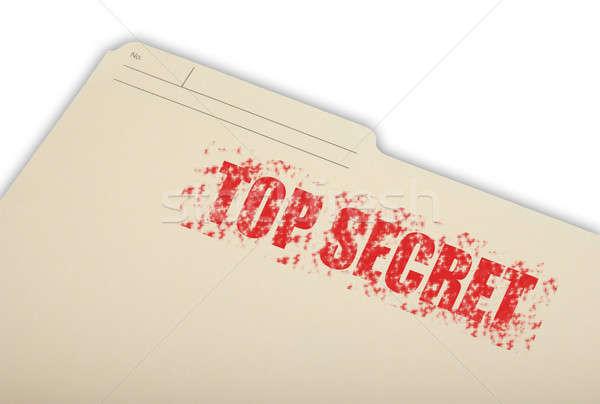 Stock photo: Top Secret Information