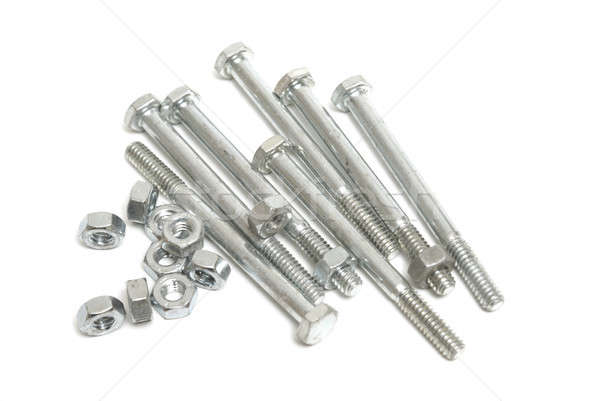 Nuts and Bolts Stock photo © AlphaBaby