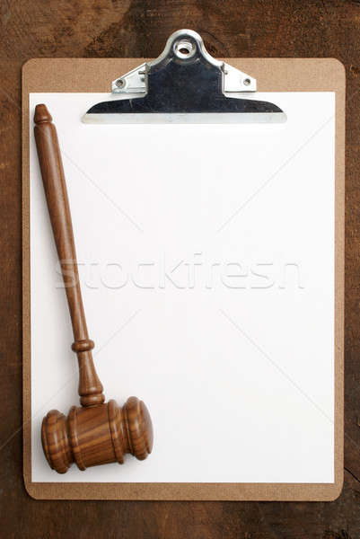 Legal Message Board Stock photo © AlphaBaby