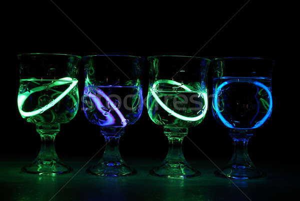 Neon Party Drinks Stock photo © AlphaBaby
