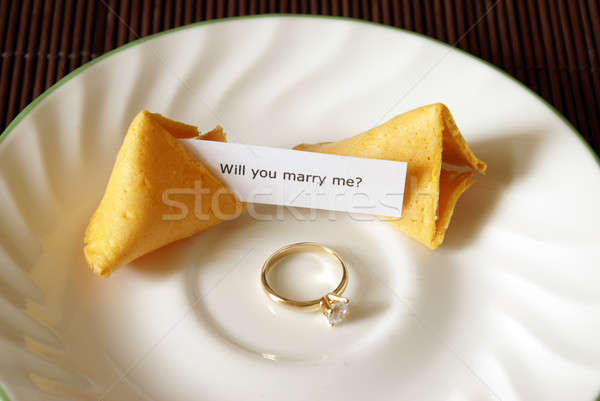 Fortune Cookie Proposal Stock photo © AlphaBaby