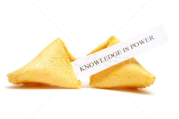Fortune Cookie of Knowledge Stock photo © AlphaBaby