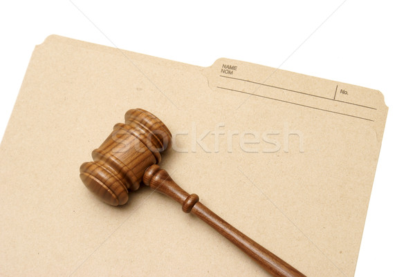Legal Folder Stock photo © AlphaBaby