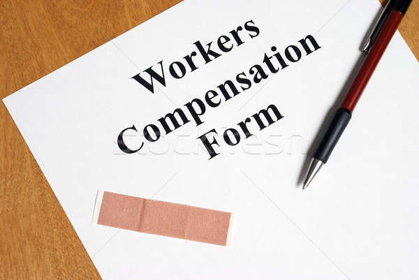 Workers Compensation Stock photo © AlphaBaby