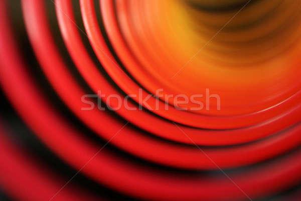 Abstract kleurrijk Blur ringen gebruikt Stockfoto © AlphaBaby