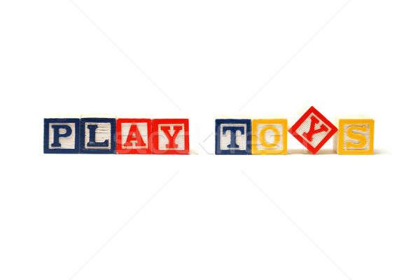 Play Toys Stock photo © AlphaBaby