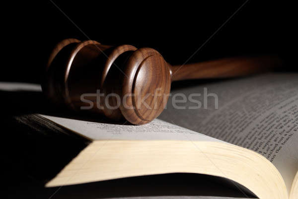 Low Key Legal System Stock photo © AlphaBaby