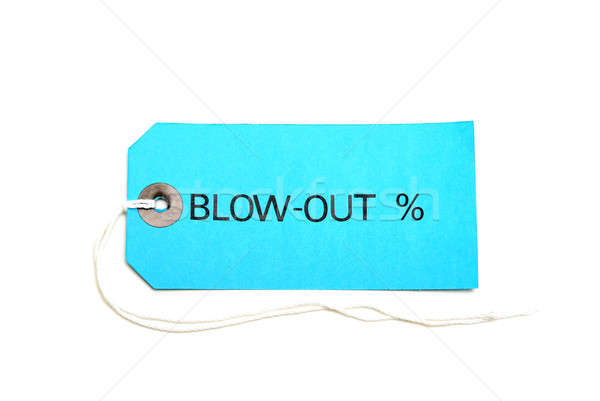 Blowout Sale Tag Stock photo © AlphaBaby