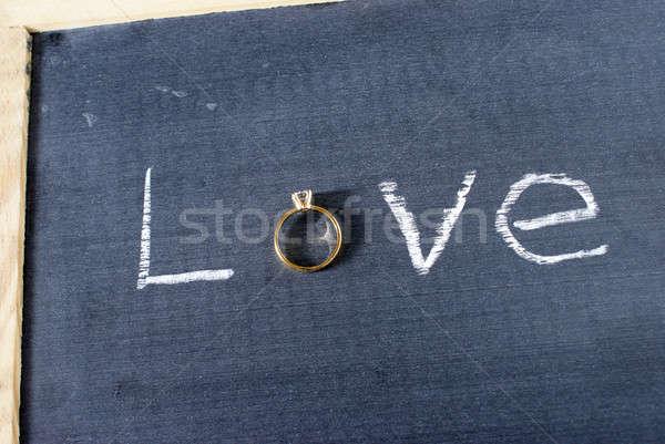 Love Ring Stock photo © AlphaBaby