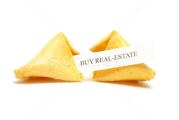 Fortune Cookie of Real Estate Stock photo © AlphaBaby