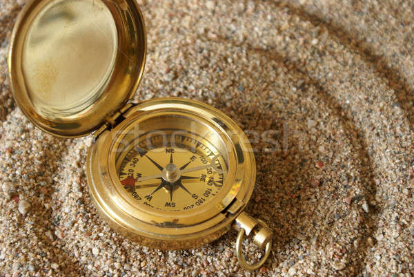 Compass Magnetic Field Stock photo © AlphaBaby