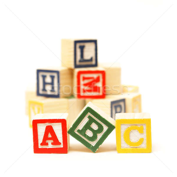 ABC of Learning Stock photo © AlphaBaby