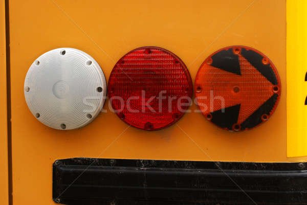 School Bus Signal Lights Stock photo © AlphaBaby