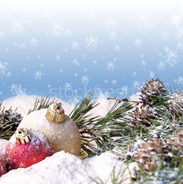 Christmas heldere vrolijk scène vol Stockfoto © AlphaBaby