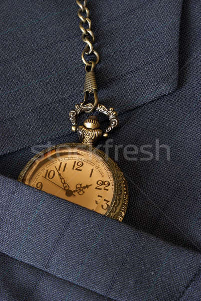 Business Suit and Pocket Watch Stock photo © AlphaBaby