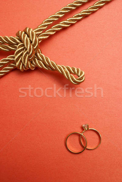 Tie the Knot Stock photo © AlphaBaby