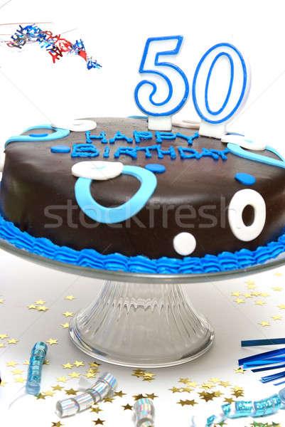 Happy 50th Birthday Stock photo © AlphaBaby