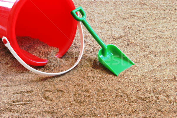 Sand Pail and Shovel Stock photo © AlphaBaby