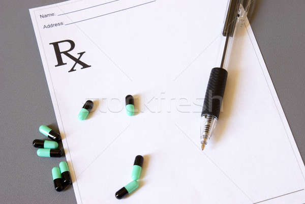 Medical Script Pad Stock photo © AlphaBaby