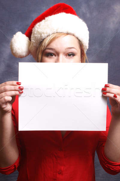 Christmas Advertisment Stock photo © AlphaBaby