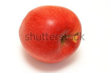 Manzana roja uno rojo frescos aislado Foto stock © AlphaBaby