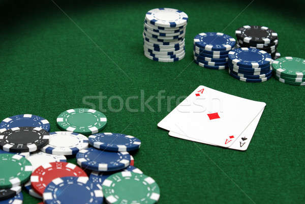 Poker Table Stock photo © AlphaBaby