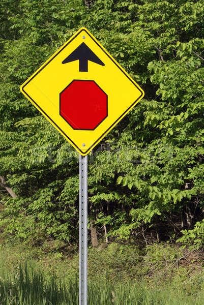 停止 警告 道路 金属 ストックフォト © AlphaBaby