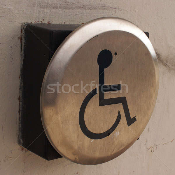 Disability Door Accessibility Button Stock photo © AlphaBaby