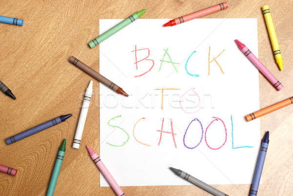 Back to School Stock photo © AlphaBaby