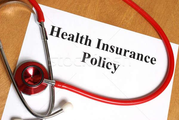 Health Insurance Stock photo © AlphaBaby