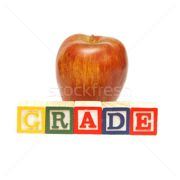 Grade Word Stock photo © AlphaBaby