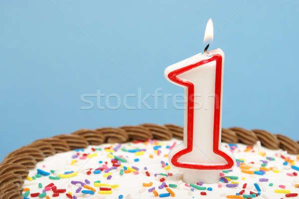 ünneplés első év születésnap üzlet egyéb Stock fotó © AlphaBaby