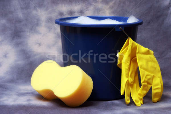 Cleaning Supplies Stock photo © AlphaBaby