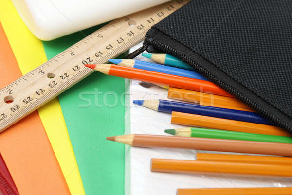 School Supplies Stock photo © AlphaBaby