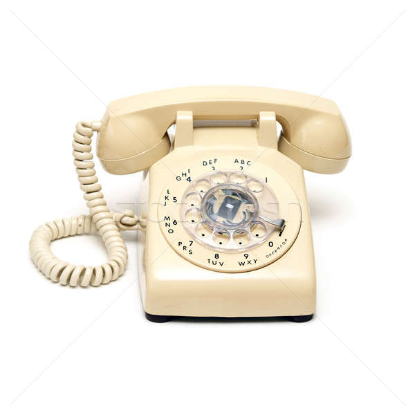 Rotary Phone Stock photo © AlphaBaby