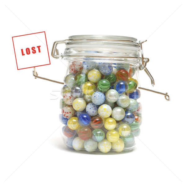 Lost Your Marbles Stock photo © AlphaBaby