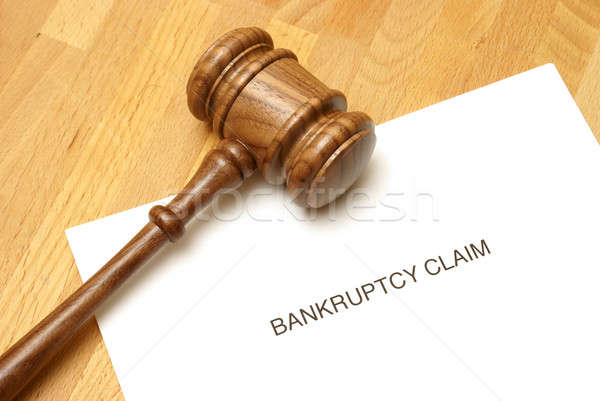 Bankruptcy Stock photo © AlphaBaby