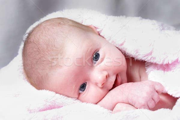 Avvisare nuovo nato ragazza Foto d'archivio © AlphaBaby