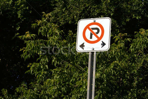 No Parking Sign Stock photo © AlphaBaby