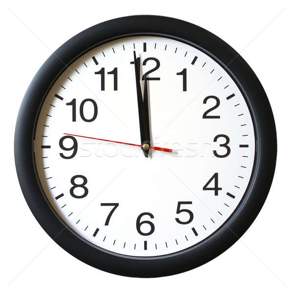 One Minute to 12 oclock Stock photo © AlphaBaby